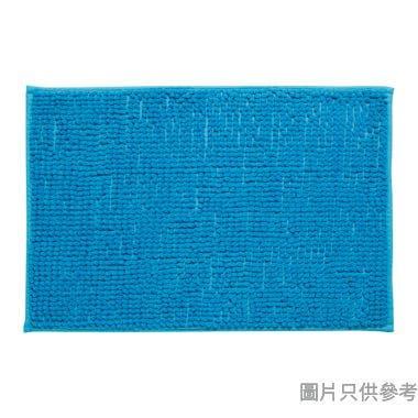 短毛浴室地墊400W x 600Dmm - 淺藍色