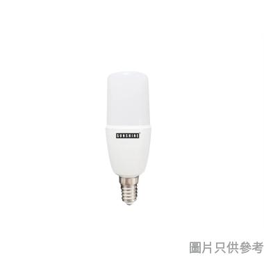 SUNSHINE陽光7W E14螺頭LED棒燈LPINB-7E14W-黃光