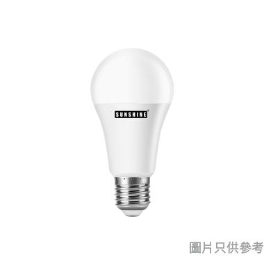 #陽光LED球膽,12W,E27螺頭,LGT-12E27W,黃光