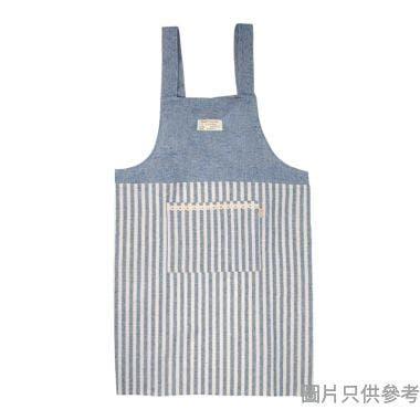 背帶式圍裙, 藍色