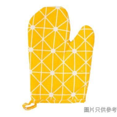 隔熱手套, 黃色格子圖案