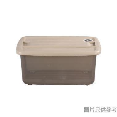 #SOHO NOVO塑膠鎖扣儲物箱20L 325W x 465D x 215Hmm N-258 - 奶茶色