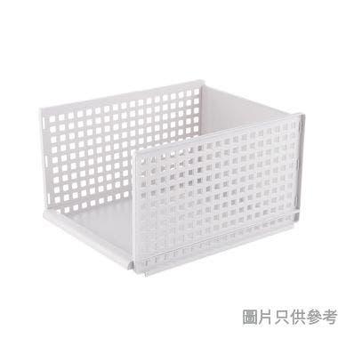 抽屜式折疊收納置物架高 330W x 425D x 250Hmm