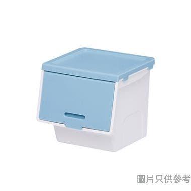 ROOMAX韓國製迷你塑膠儲物盒113W x 106D x 102Hmm 271125 - 藍色