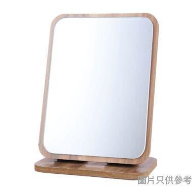 實木方形摺疊座檯鏡160W x 100D x 220Hmm