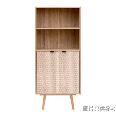 ATTIA 雙門四層書櫃600W x 290D x 1360Hmm