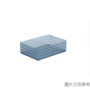 Myroom韓國製塑膠籃280W x 200D x 85Hmm 270576(大) - 藍色