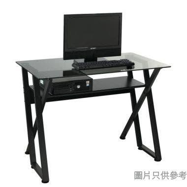 Dreddy玻璃電腦檯1000W x 600D x 750Hmm