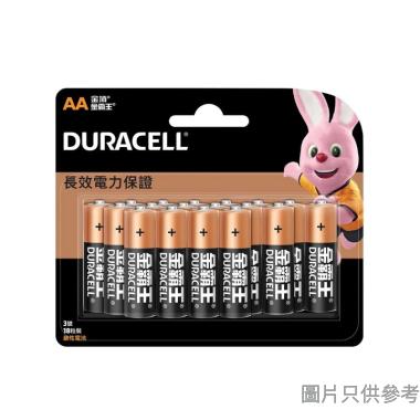 Duracell金霸王鹼性電池AA(18粒裝)