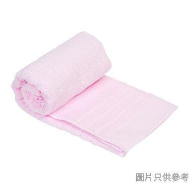 SOHO NOVO 全棉淨色浴巾600W x 1200Dmm - 粉紅色