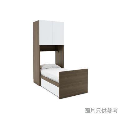 Staple兩櫃桶組合床連雙門衣櫃960W x 1903D x 2200Hmm