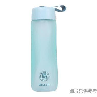 Diller迪樂貝爾寬口扭扭杯550ml Tritan-D21-550 - 淺藍
