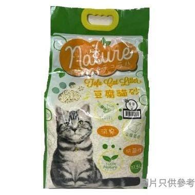 Nature豆腐砂17.5L - 蘆薈香味