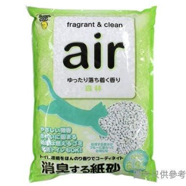 Super Cat日本製紙砂6L - 森林香味