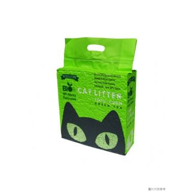 Wellon Bio威龍生物豆腐粟米砂6L - 綠茶味