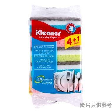 Kleaner吸水海棉百潔布100W x 53D x 30Hmm GSH002 (5件裝)
