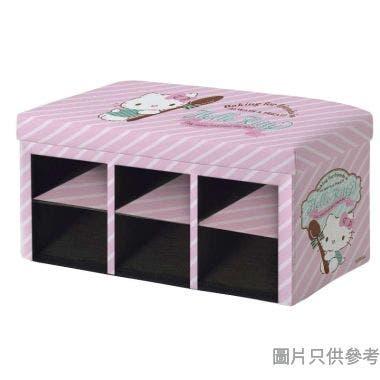 Hello Kitty摺疊鞋櫃765W x 380D x 375Hmm SA-6SR-1(KT)