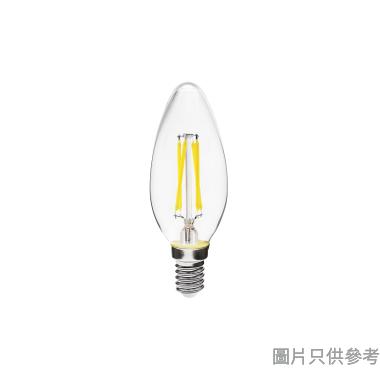 SUNSHINE 陽光4W E14 LED燈絲蠟燭 LCANG-4E14D - 白光
