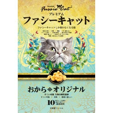 Fussie Cat高竇貓豆腐砂7L - 原味