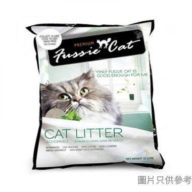 Fussie Cat高竇貓礦物砂10L - 原味