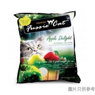 Fussie Cat高竇貓礦物砂10L - 蘋果味