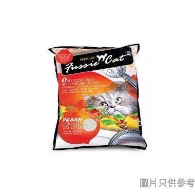 Fussie Cat高竇貓礦物砂10L - 桃味