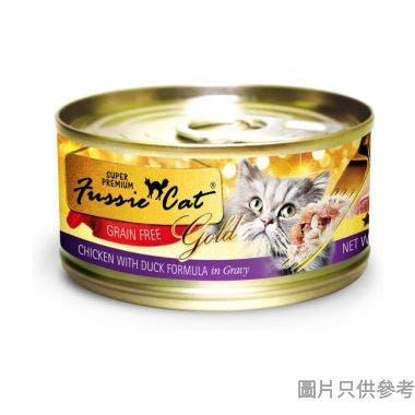 Fussie Cat高竇貓泰國製金鑽雞肉及鴨肉80g