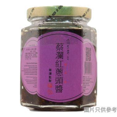 Chua Lams Colorful World蔡瀾花花世界紅蔥頭醬170g SS