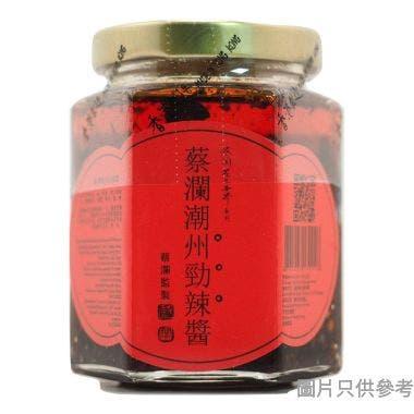 Chua Lams Colorful World蔡瀾花花世界潮州勁辣醬160g EC