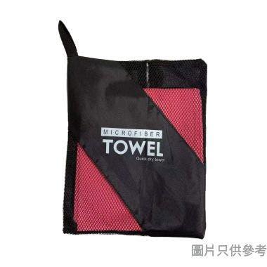 運動快乾毛巾 400W x 800Dmm - 粉紅色