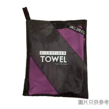 運動快乾毛巾 400W x 800Dmm - 紫色