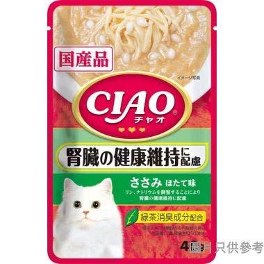 Ciao日本製腎臟健康軟包40g - 雞肉+帶子味