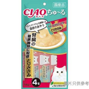 Ciao日本製腎臟健康維持雞肉醬 (4條裝) 14g