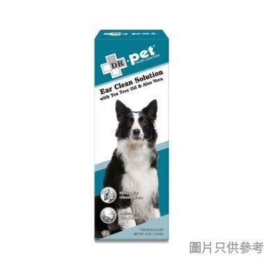 Dr.pet美國製蘆薈茶樹油洗耳液118ml
