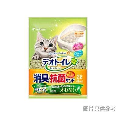 Unicharm日本製抗菌沸石貓砂2L