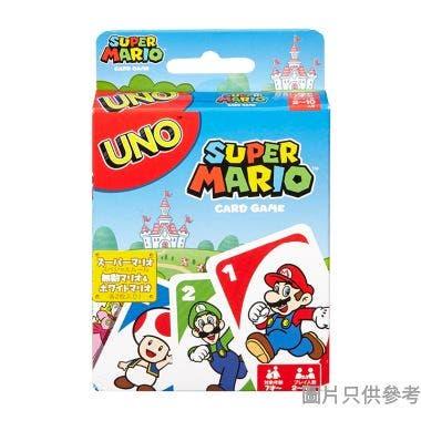 UNO超級瑪莉奧遊戲卡GM33124