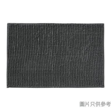 短毛浴室地墊600W x 400Dmm - 深灰色