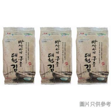 Moyanggim烘烤調味紫菜 5g (3包裝)