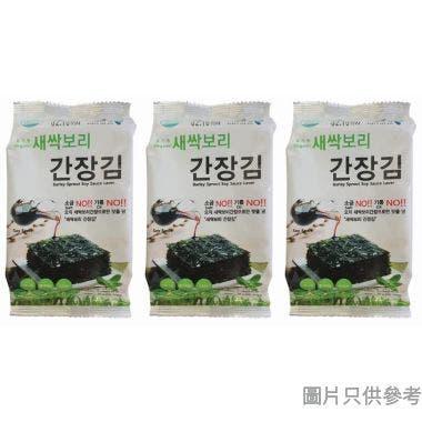 Moyanggim醬油味紫菜 3g (3包裝)