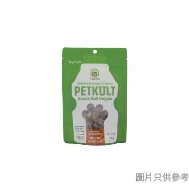 Petkult寵物添加乳酸菌零食犬用100g - 素食