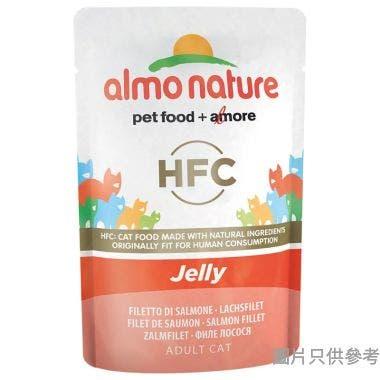 Almo Nature泰國製啫喱吞拿魚柳蝦55g