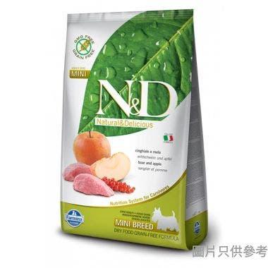 N&D法納米意大利製成犬小型犬糧2.5kg - 野豬蘋果