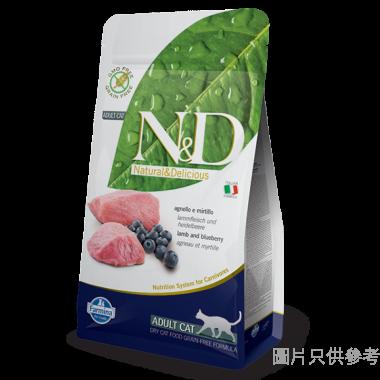 N&D法納米意大利製成貓糧5kg - 羊肉藍莓