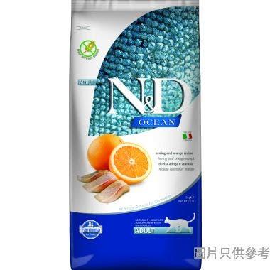N&D法納米意大利製成貓糧5kg - 魚及橙