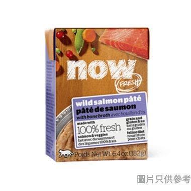 Now Fresh無穀物全貓種濕糧配方182g - 骨湯燉三文魚肉泥