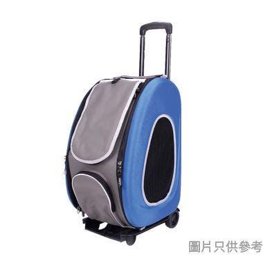 Ibiyaya五彩繽紛寵物拉桿後背包34W x 30D x 50Hcm - 寶藍