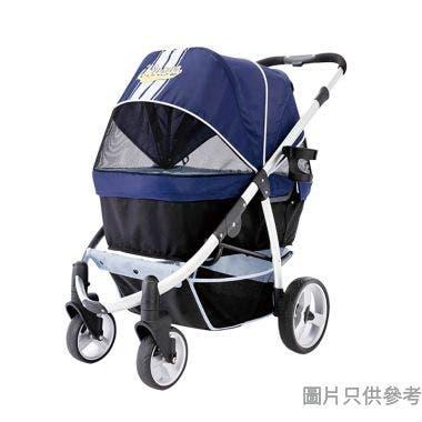 Ibiyaya頭等艙寵物推車59W x 95D x 96-104Hcm - 藍色