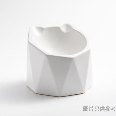 Peg Cat六邊玲瓏碗 - 白色