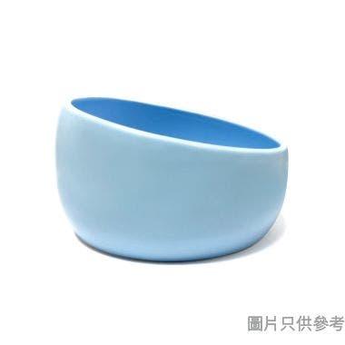 Peg Cat亮光波波碗 - 藍色