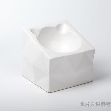 Peg Cat方形光影碗 - 白色